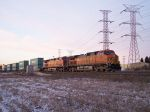 Parked Stack train holding out of Corwith